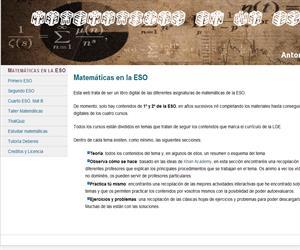 Matemáticas en la ESO (Antonio Omatos)