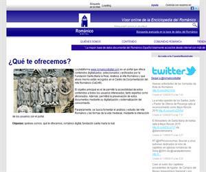 Arte Románico Digital:  portal sobre Arte Románico