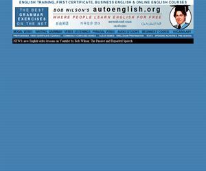 autoenglish.org, centenares de ejercicios interactivos para aprender inglés