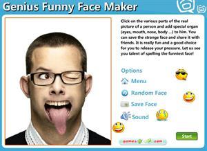 Genius Funny Face Maker. Creador de caras