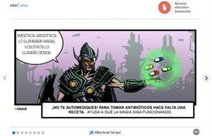 Superhéroes contra superbacterias. (La resistencia a los antibióticos)