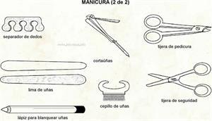 Manicuro (Diccionario visual)