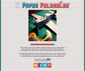 Paper Foldables, manualidades de papel para niños