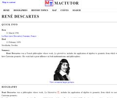Poster of Descartes