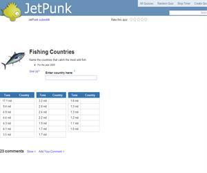 Fishing Countries