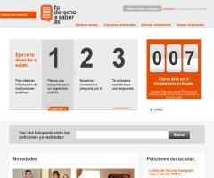 Proyecto Tuderechoasaber.es