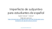 Imperfecto de subjuntivo.