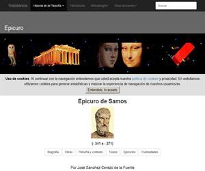 Epicuro de Samos: Biografía,Obras, Filosofía, Textos, Ejercicios, Curiosidades y Glosario