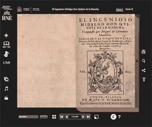 Biblioteca Nacional de España. El Quijote interactivo.