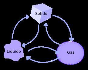 Crucigrama de los estados de la materia (areaciencias.com)