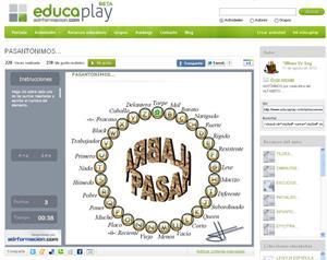 Pasantónimos, pasapalabra de antónimos (educaplay.org)