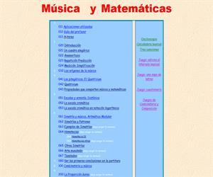 Música y matemáticas: unidad didáctica interdisciplinar para alumnos de 12 a 16 años (por profesores del IES Antonio Machado de Madrid)