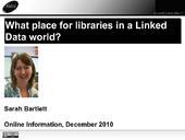 ¿Cuál es el sitio de las bibliotecas en el mundo de Linked Data? - Sarah Bartlett