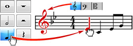 Crescendo, Music Notation and Composition Software