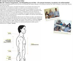 Taller de Lengua y Cultura Toba. El cuerpo humano en lengua toba
