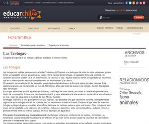 Ficha trotugas (Educarchile)