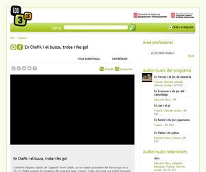 En Chafik i el busca, troba i fes gol (Edu3.cat)