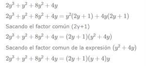 Calculadora de factorización de polinomios - Productos notables