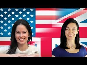 British English vs American English pronunciation lesson