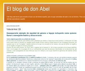 'Desesperante ejemplo de equidad de género en el lenguaje' Abel Méndez