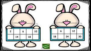 Tablas de multiplicar: completa las pizarras con los resultados