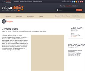 Corriente alterna (Educarchile)