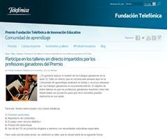 Taller abierto online innovación educativa