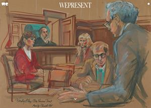 Artistas de los tribunales. Art of the trial (WePresent)