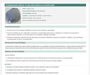 Contaminación hídrica: el caso del arsénico en nuestro país