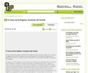 El massís de les Bogaboo, Rocalloses del Canadà (Edu3.cat)