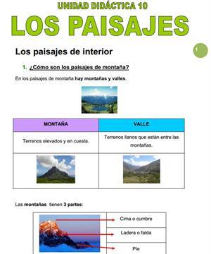 Los paisajes (Ana Quevedo Montes)