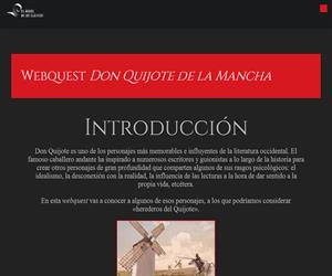 Webquest El Quijote (Oxford University Press)