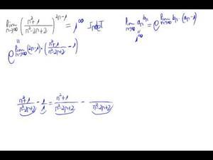 Límite de una sucesión (número e)