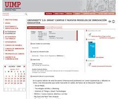 La Universidad de Deusto en el encuentro University 3.0 de la UIMP: ponencia 'Deusto KnowledgeHub: un proyecto de repositorio institucional basado en linked data' (2 septiembre, Santander)