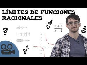 Límites de funciones racionales