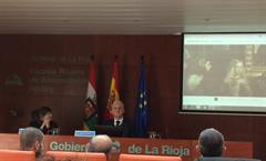 """GNOSS participa en la jornada """"Datos abiertos, reutilización de datos públicos"""". Logroño, 28 de noviembre de 2016."""