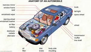 Anatomy of an automobile  (Visual Dictionary)