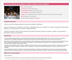 Una breve historia de las Madres de Plaza de Mayo Línea Fundadora