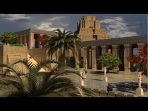 Reconstrucción en 3D de Babilonia