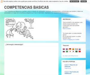 COMPETENCIAS BASICAS:  Recursos educativos. Tareas: aprender otras lenguas. Frances, Inglés. Matemáticas. Lenguajes. Alumnos de primaria