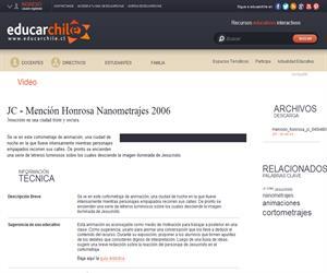 Jesucristo - Mención Honrosa Nanometrajes 2006- (Educarchile)