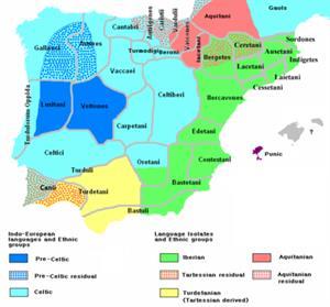 Pueblos prerromanos de España (Wikipedia)