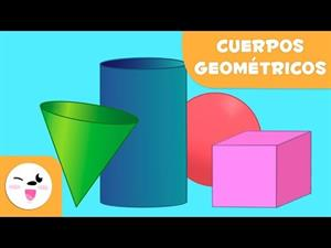 Los cuerpos geométricos para niños