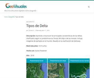 Geografía: Tipos de Delta