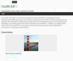 Health 2.0 Europe 2012