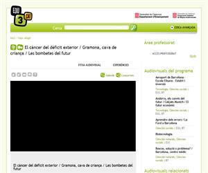 El càncer del dèficit exterior / Gramona, cava de criança / Les bombetes del futur (Edu3.cat)