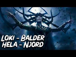 Los Dioses Nórdicos (parte 3 de 3): Hela, Loki, Balder y Njord