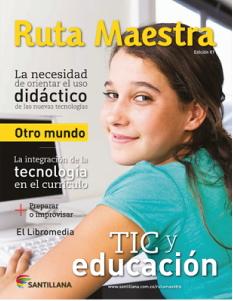 Ruta Maestra: Revista de Santillana Colombia especializada en educación