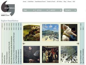 SmartHistory by KhanAcademy, vídeos y recursos educativos de Arte e Historia