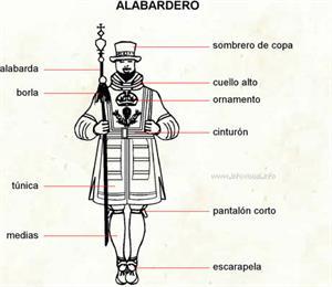 Alabardero (Diccionario visual)